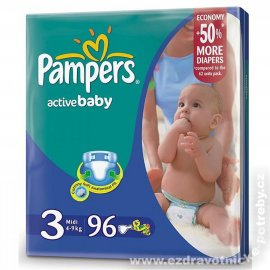 Pampers Active baby 4 - 9kg