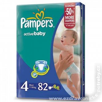 Pampers Active baby 7 - 18kg