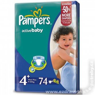 Pampers Active baby 9 - 20kg
