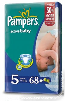 Pampers Active baby 11 - 25kg