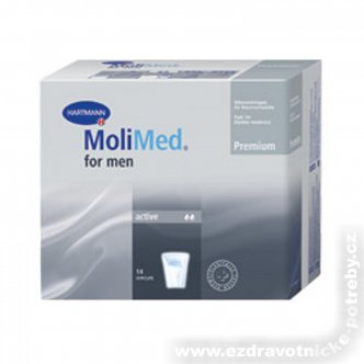 Vložky MoliMed for men Active